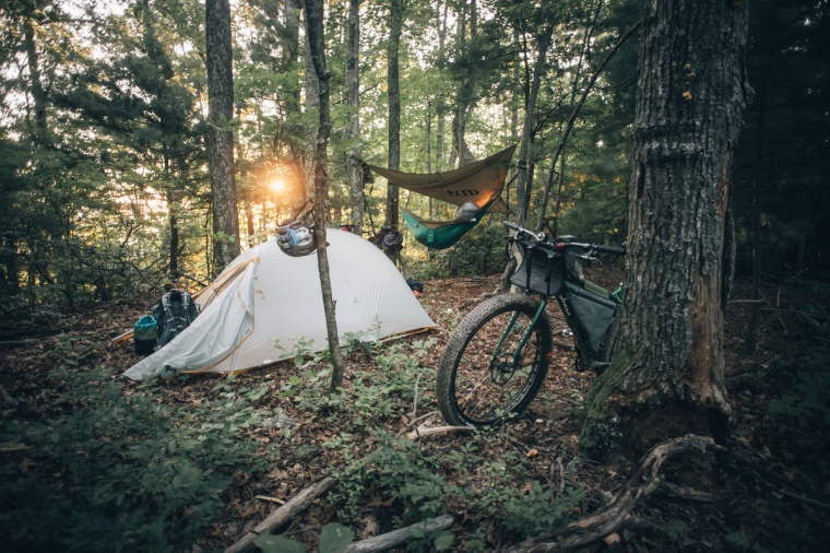 bikepacking-tips-hammock